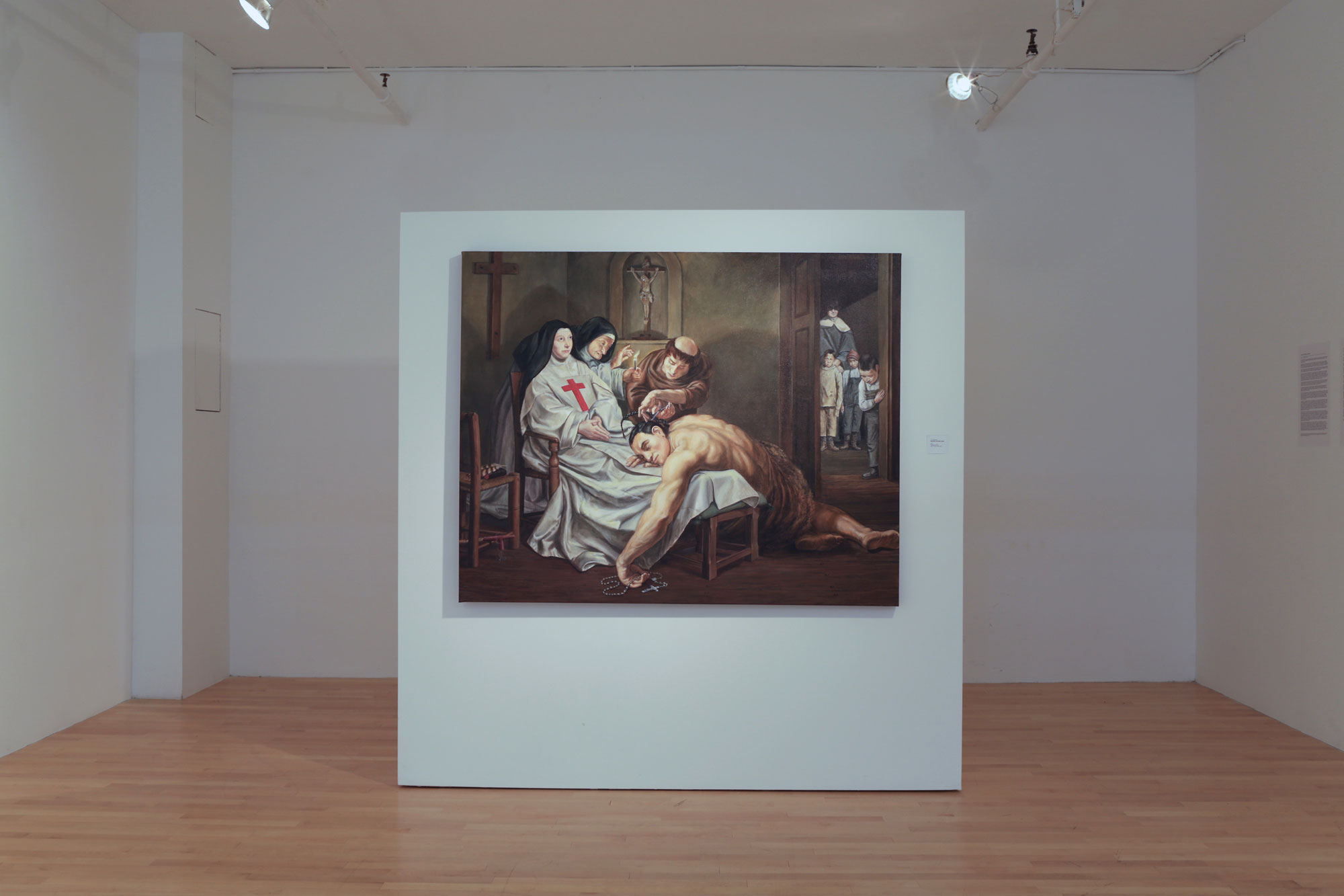 No Homo: Art, Assistants and Emulation at pfoac221, Curated by Kent Monkman.